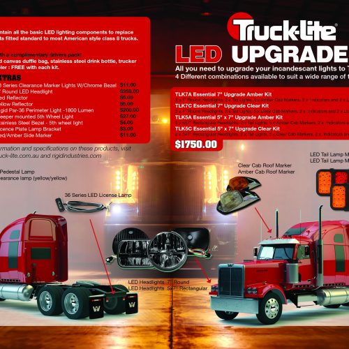 Truck-Lite Upgrade Kit 2016 v3