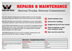 spec sheets | western star on western star exploded view, western star fuse  diagram,
